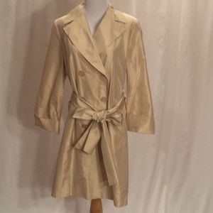 Cole Haan 100% silk coat.  Size 6